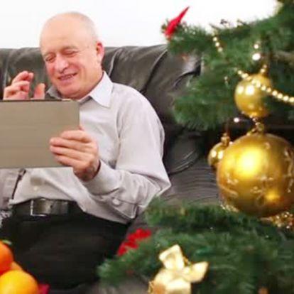 Videóchaten keresztül is lehet bensőséges a karácsony