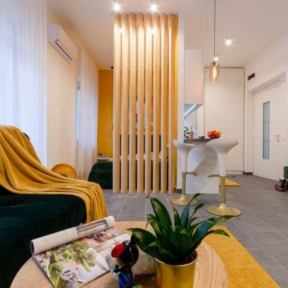 Teljes körű lakásfelújítás 33m2-en, Újlipótváros egyik legszebb épületében