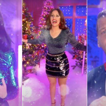 Tóth Andi Last Christmast, Radics Gigi Mariah Carey-t énekel majd a LifeTV karácsonyi műsorában