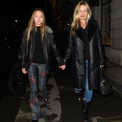 Kate Moss y Lila Grace saben cuál es la prenda más cool del invierno (y es posible que la tengas en tu armario)