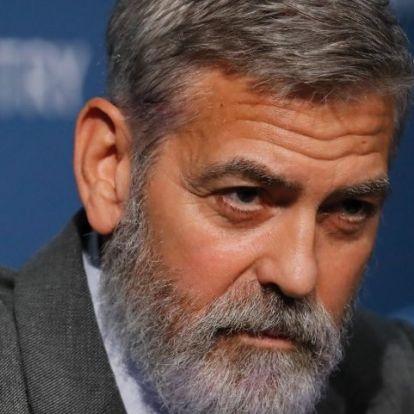 George Clooney újra orbánozott egyet