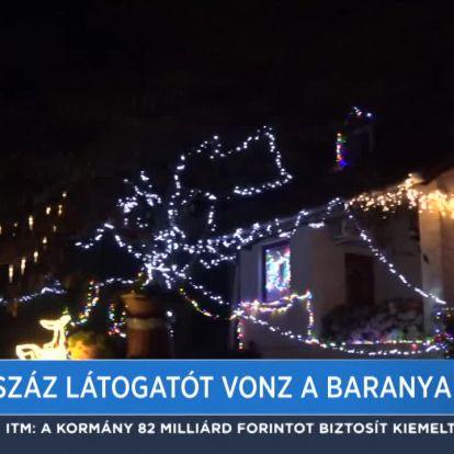 Több száz látogatót vonz a baranyai csodaház