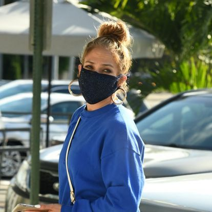 Jennifer Lopez's Monochromatic Sweatsuits Were Her Holiday Outfit Of Choice