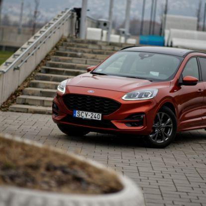 Ne öljétek meg a dízelt! – Ford Kuga 2.0 Ecoblue mHEV (2020) teszt