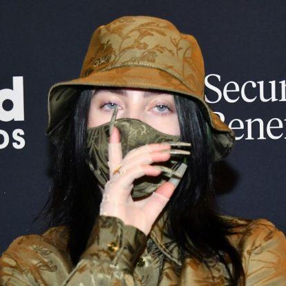 Billie Eilish és Ariana Grande maszkokat dobtak piacra