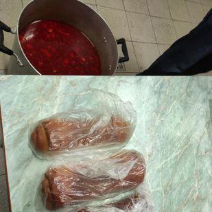Bőséges ételszállítmány érkezett idén év végére is a vásárhelyi hajléktalanszállóra