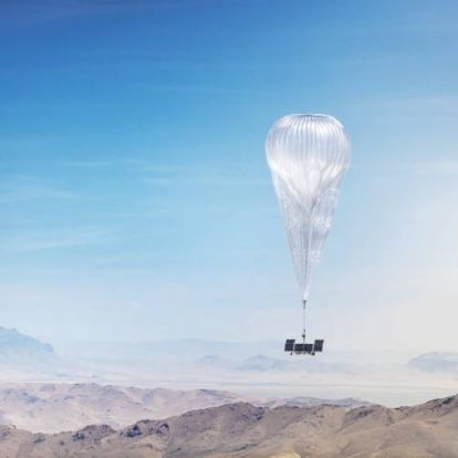 Mégsem szórja hőlégballonról az internetet a Google testvércége