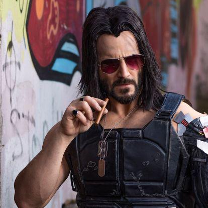 Cyberpunk 2077: Így nézett ki Johnny Silverhand, mielőtt megkapta Keanu Reeves fizimiskáját