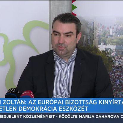 Lomnici Zoltán: Az Európai Bizottság kinyírta a közvetlen demokrácia eszközét