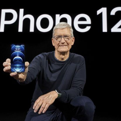 iPhone 12-jubel for Apple