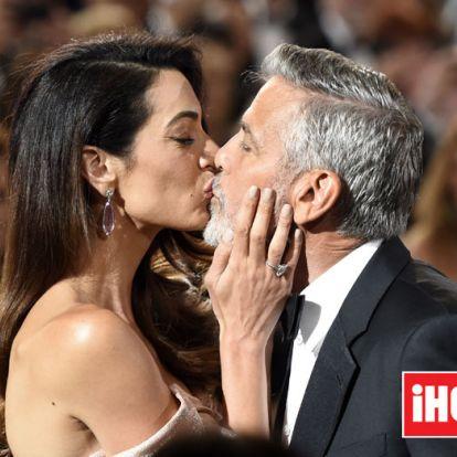 Las cartas de amor de George Clooney a su mujer Amal en el confinamiento