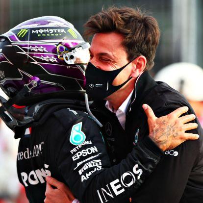 F1: A Mercedes nem akar beszélni Hamiltonról