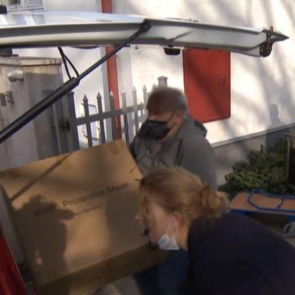 Több mint 300 ezer maszkot ajánlottak fel erdélyi és kárpátaljai rászorulóknak