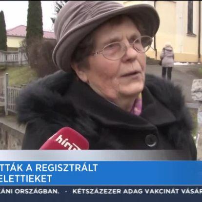Beoltották a regisztrált 85 év felettieket