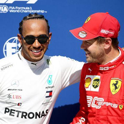 F1: Majdnem összejött a Hamilton-Vettel-páros