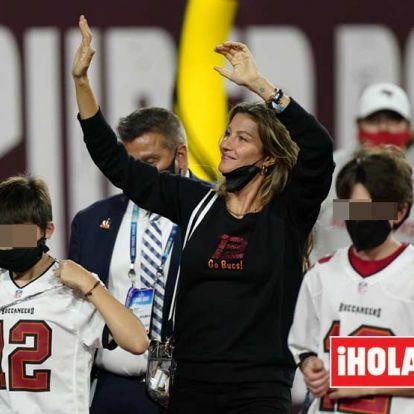 Gisele Bündchen, Tom Brady y el beso viral de la victoria en la Super Bowl