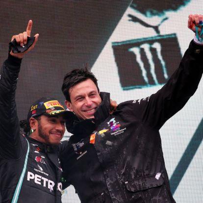 A Mercedes elmondta, miért csak egy évre hosszabbított Hamiltonnal