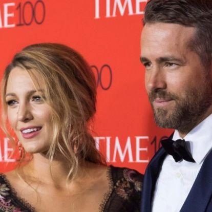 Blake Lively megkérte Ryan Reynoldsot, hogy fesse be a haját, ez lett a végeredmény