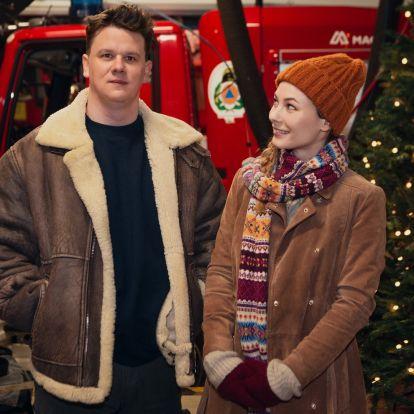 Így zajlik az első magyar karácsonyi film, a Nagykarácsony forgatása