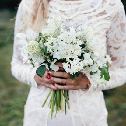 Kötött pulóver, elegáns menyasszonyi ruha helyett – 8 híresség, aki nem a hagyományos esküvői öltözéket választotta