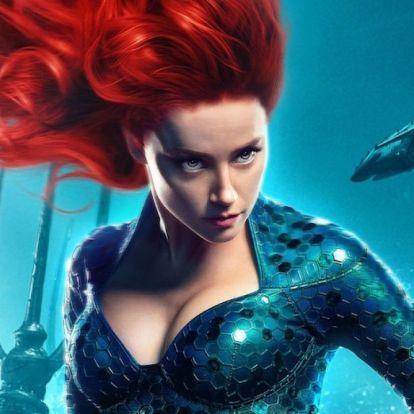 Egy új pletyka szerint mégis kirúghatják Amber Heardöt az Aquaman 2-ből: Már meg is van, kire cserélnék le