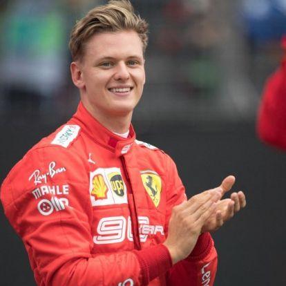 Mick Schumachert megkérdezték az édesapja állapotáról, a válaszban nem volt köszönet