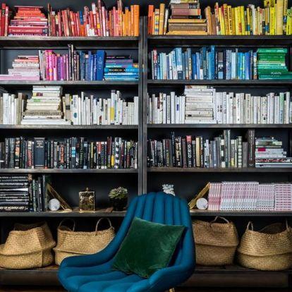 Rendszerezési trükkök, amikkel Pinterest-kompatibilis lehet a könyvespolcunk