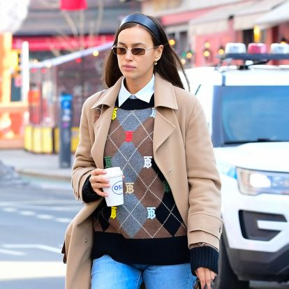 Irina Shayk's Max Mara Coat Collection Proves This Is Her Favorite Outerwear Brand