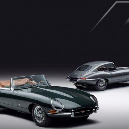 E-Type kollekció a Jaguar Classic jóvoltából: exkluzivitás magas fokon