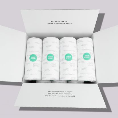 The toilet paper startup backed by Marc Benioff, Dara Khosrowshahi, and Robert Downey Jr. now sells paper towels