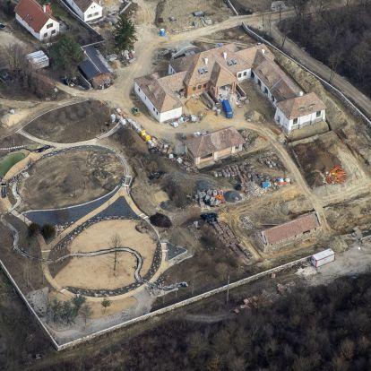 A hatvanpusztai Orbán-majorsághoz fogható méretű birtok épül Balatonhenyén