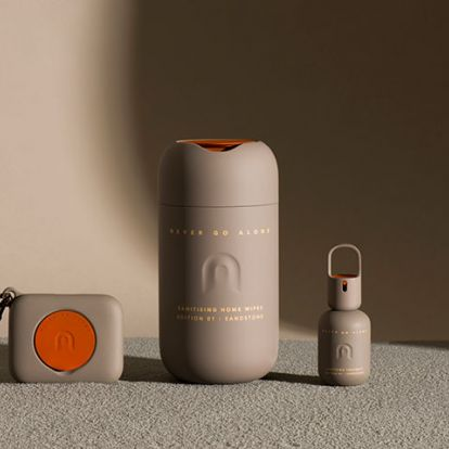 "Benjamin Hubert crafts ""high-spirited"" look for wellness start-up Never Go Alone"