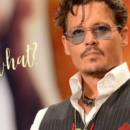 Betörtek Johnny Depphez