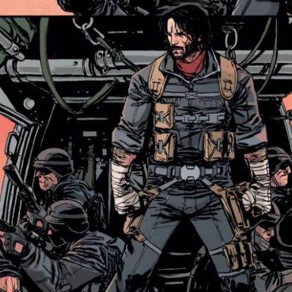 Keanu Reeves brutális képregényfilmben fog szerepelni