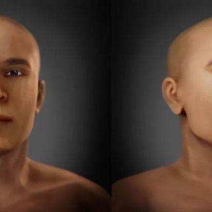 Rekonstruálták, milyen lehetett Tutanhamon fáraó apjának arca
