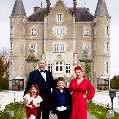 Dick Strawbridge discusses Escape to the Chateau spin-off with eldest son