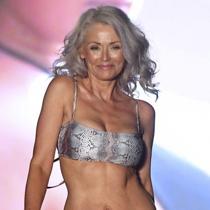 Az 57 éves nő mindenkit ámulatba ejt formás alakjával: Kathy Jacobs gyönyörű bikinimodell
