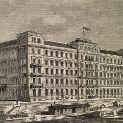 A Duna-korzó elfeledett épülete – Százötven éve készült el a Hungária Nagyszálló