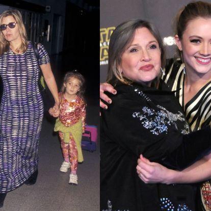 Megszólalásig hasonlít édesanyjára Carrie Fisher lánya, Billie Lourd