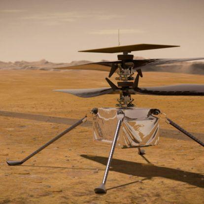 Elhalasztották az első helikopteres repülést a Marson