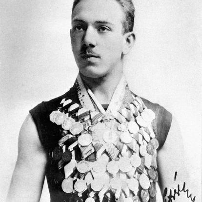 Az Országház előtti Duna-szakaszon tanult meg úszni Hajós Alfréd, hazánk első olimpiai bajnoka