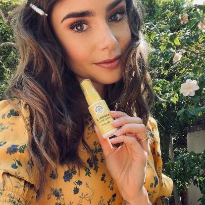 Lily Collins Invests In Beekeeper's Naturals, The Wellness Brand Celebs Are Obsessed With