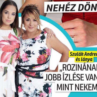 Csodaszép kis hölgy lett Szulák Andrea lánya, friss fotón a 14 éves Rozina