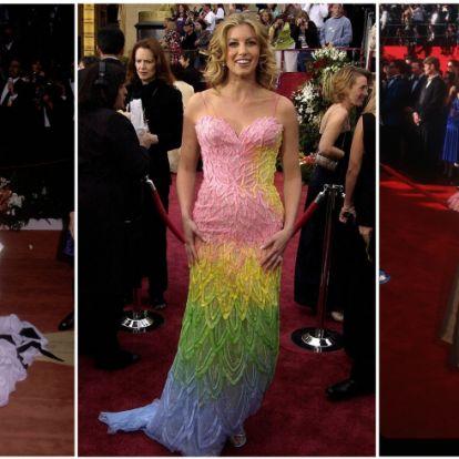 7 ruha az eddigi Oscar-gálákról, ami nevetségesen ronda
