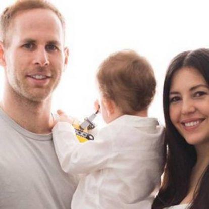 Gulácsi Péter felesége a második gyerekét várja – cuki fotóval jelentették be a hírt
