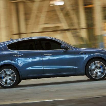 Nem sovány: 330 lóerővel debütált a 4-hengeres Maserati Levante Hybrid
