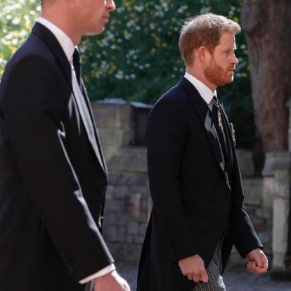 Erről beszélt Harry és Vilmos herceg a temetés után