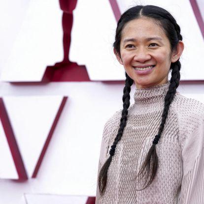 Chloé Zhao kapta a legjobb rendezésért járó Oscart, a Nomadland lett a legjobb film