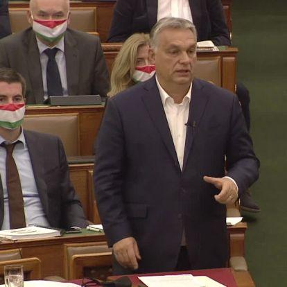 Orbán Viktor hamarosan az azonnali kérdésekre válaszol a Parlamentben