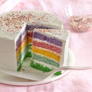 Lépésről lépésre: így kell sütni az internet kedvenc sütijét, a szivárványos tortát